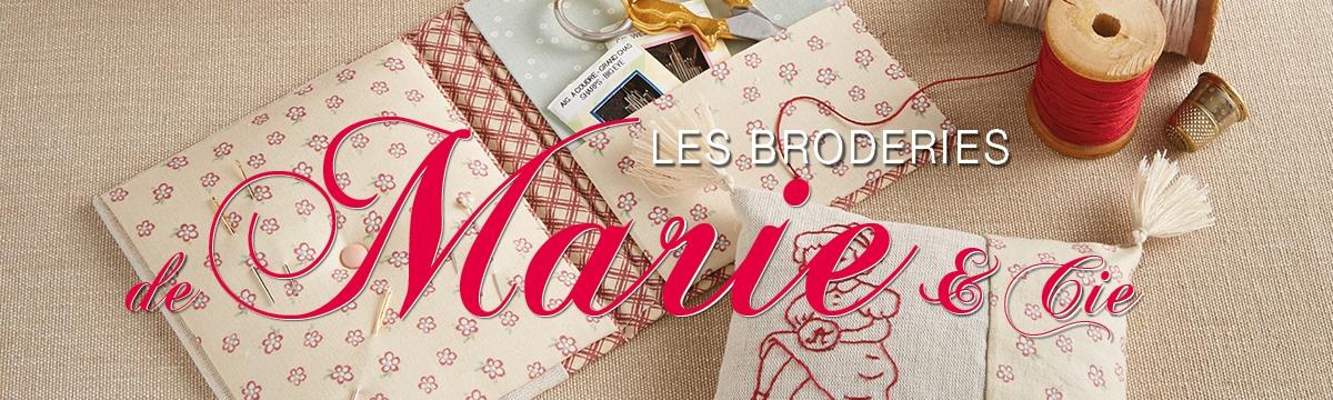 Les Broderies de Marie & Cie