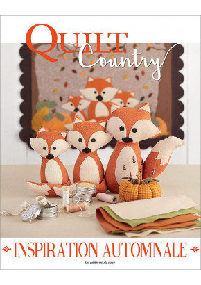 Quilt Country n° 62 - Inspiration automnale