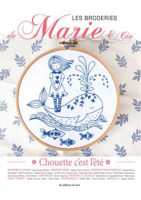 Les broderies de Marie & Cie - Chouette c'est l'été - Broderie - éditions de saxe