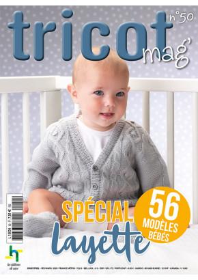Tricot Mag' n°50 - Spécial layette