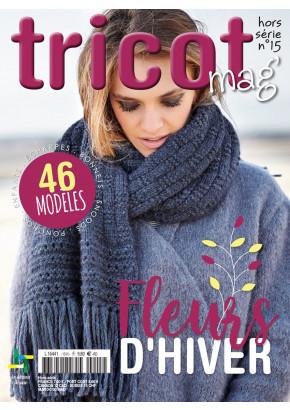 Tricot Mag Hors série 15 - Fleurs d'hiver