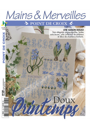 Mains & Merveilles Point de Croix N°135 - Doux printemps