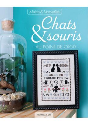 Chats & souris au point de croix - Broderie - Les éditions de saxe