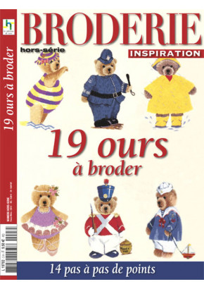 Broderie Inspiration hors série 3 - 19 ours à broder
