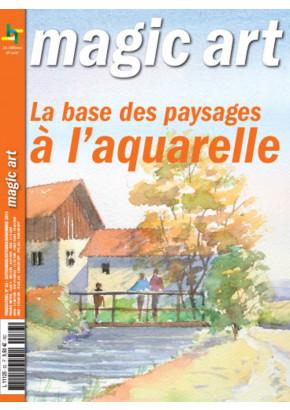 Magic art 83 - La base des paysages à l'aquarelle