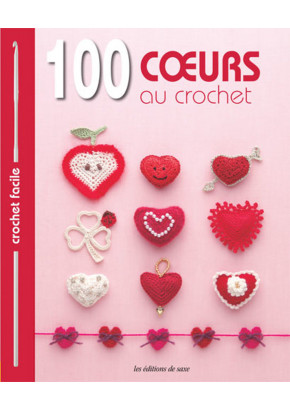 100 cœurs au crochet