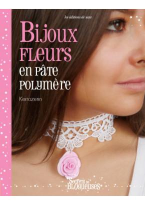 Bijoux fleurs en pâte polymère
