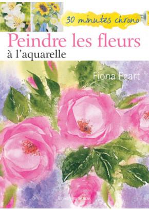 30 minutes chrono - Peindre les fleurs à l'aquarelle