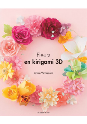 Fleurs en kirigami 3D