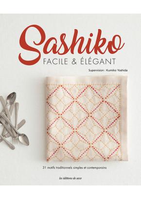 Sashiko facile & élégant aux éditions de saxe