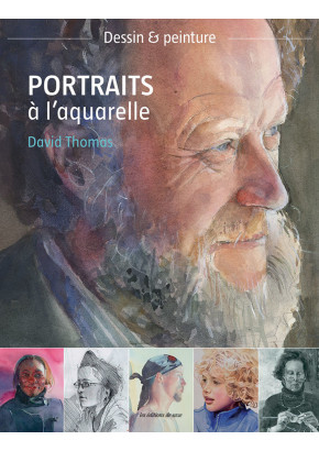 Portraits à l'aquarelle