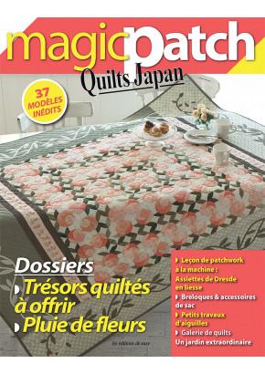 Magic Patch Quilts Japan - Dossier Trésors quiltés à offir & Pluie de fleurs