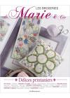 Les broderies de Marie & Cie n°10 - Délices printaniers