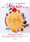 Les broderies de Marie & Cie N° 16 - Précieux hiver - Broderie - éditions de saxe