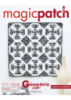 Magic Patch n°143 - Géométrie quiltée – Patchwork - les éditions de saxe