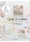 Quilts et couture de Kanae - Les éditions de saxe