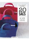 20 sacs en toile coton canvas - Couture - Les éditions de saxe