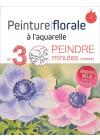 Peinture florale à l'aquarelle - Les éditions de saxe