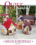 Quilt country n° 66 - Douceur hivernale - Patchwork - Les éditions de saxe