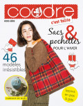 Coudre c'est facile hors série 29 - Sacs & pochettes pour l'hiver - 46 modèles irrésistibles - Les éditions de saxe