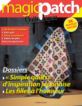 """Magic Patch Quilts Japan N° 22 - """"Simple quilts"""" d'inspiration japonaise"""
