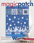 Magic Patch n°140 - Winter quilts - Les éditions de saxe