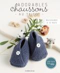 Adorables chaussons au tricot
