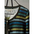 Garde-robe au crochet - Cardigan à rayures