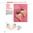 Perles à repasser - boucles d'oreilles