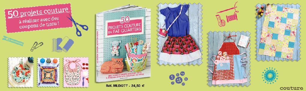 MLDI277_50 Projets couture en Fat Quarters/pro