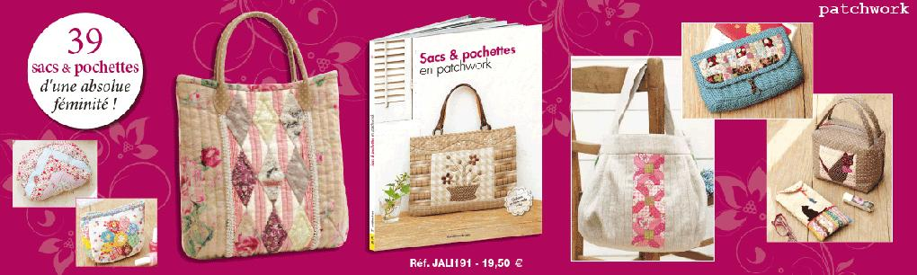 JALI191_Sacs et pochettes en patchwork / Pro