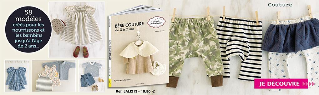 JALI213_Bébé couture de 0 à 2 ans _ PRO