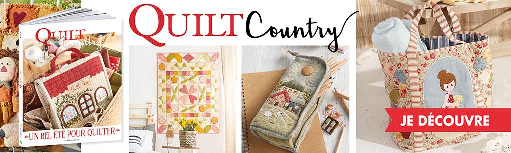 Quilt Country n° 61 - Un bel été pour quilter - PRO