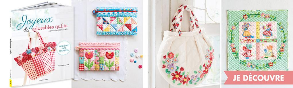 JALI260-Joyeux & adorables quilts-PRO