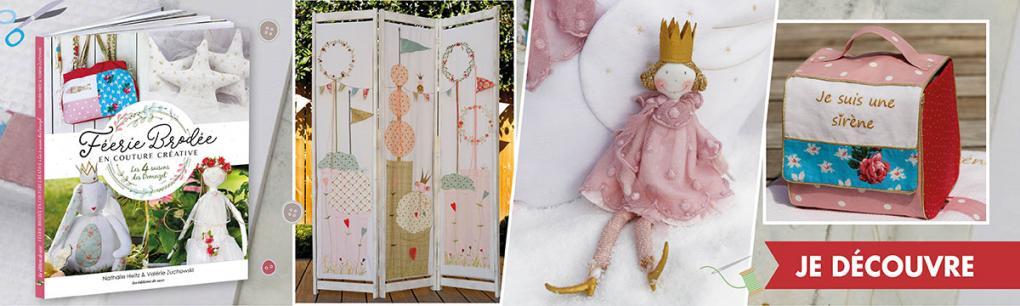 MLAB335-Féerie brodée en couture créative- PRO
